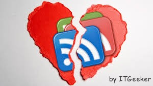 google Reader broken heart